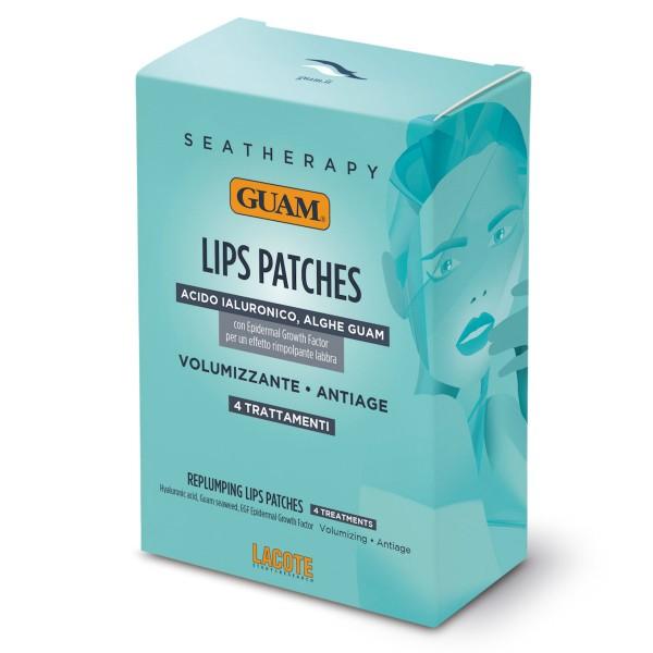 GUAM Seatherapy Anti Age Volumen Lippen Patches, 4 Anwendungen