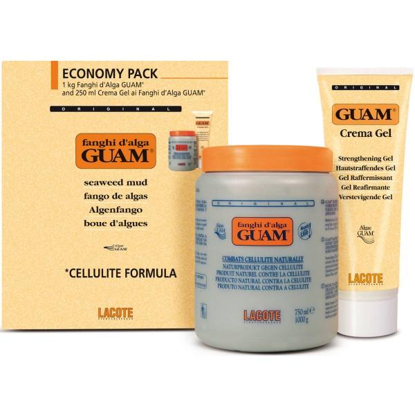 GUAM Kurpackung klassisch: 1kg Algenfango + 250ml Gel