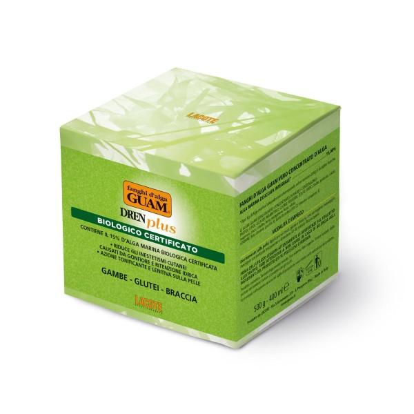 GUAM Algenfango DREN Plus Bio Aloe Vera intensiv entwässernd und antioxidativ 500g