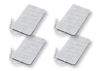 4 EMS Elektroden 50 x 90 mm für Saneo EMS Gerät