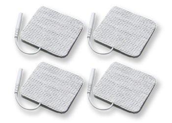 4 EMS Elektroden 50 x 50 mm für Saneo EMS Gerät