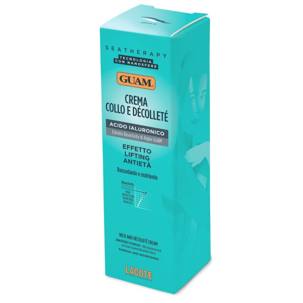 GUAM Seatherapy straffende Creme für Hals und Dekolletee 75ml