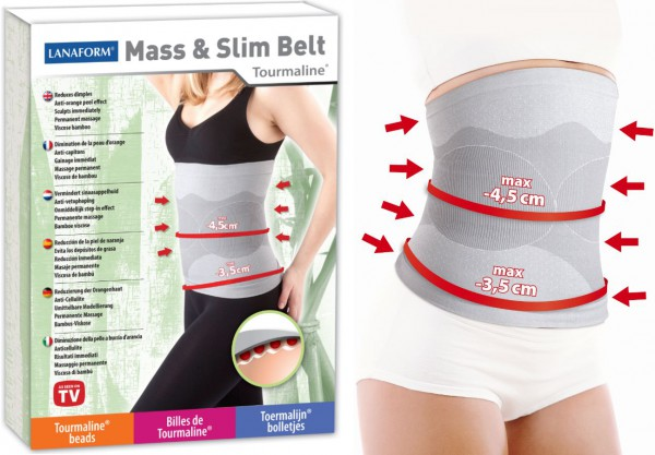 MASS & SLIM Schlankheits- und Anti-Cellulite-Gurt