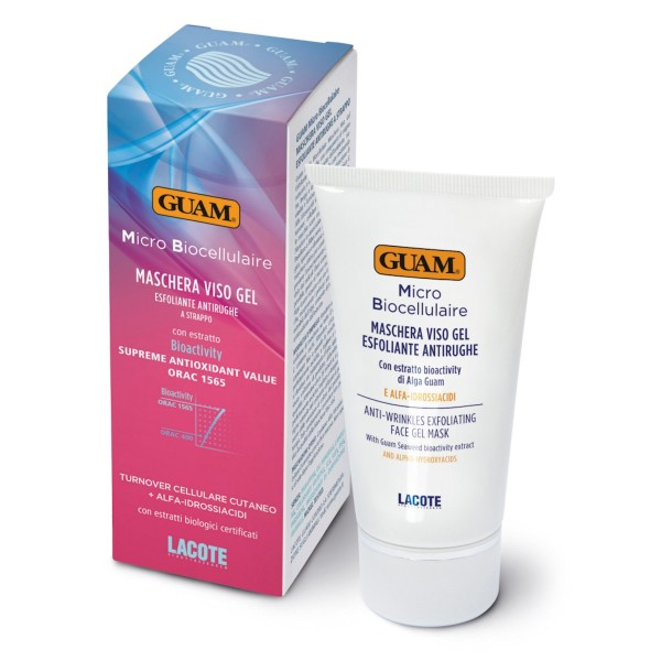 GUAM Micro Biocellulaire Anti-Falten-Fruchtsäurepeeling-Maske